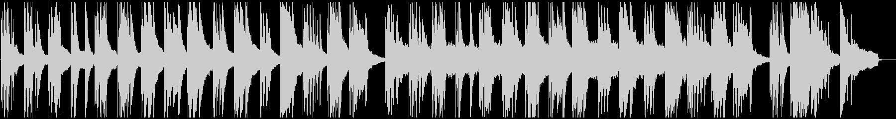 ピアノ 悲しい 懐古 後悔 切ない ソロの未再生の波形