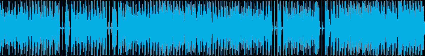 日常系・ゆるやかな午後を思わせるBGMの再生済みの波形