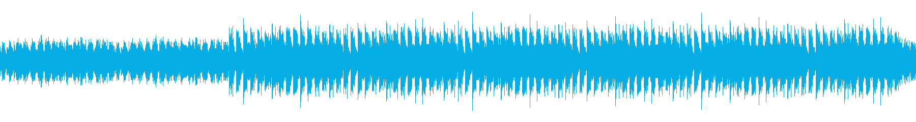 ループ:前進感あるシンプルなハウスビートの再生済みの波形