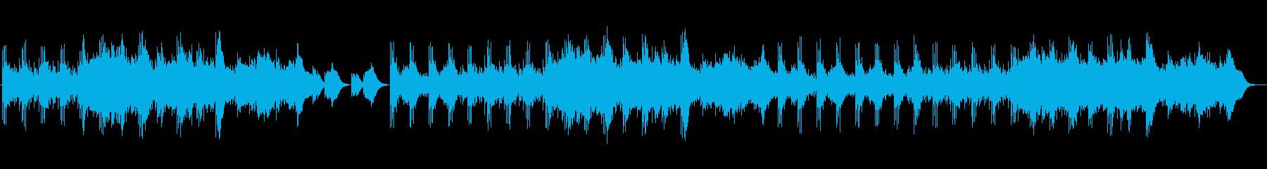 ひっそりした緊迫感のあるメロディーの再生済みの波形