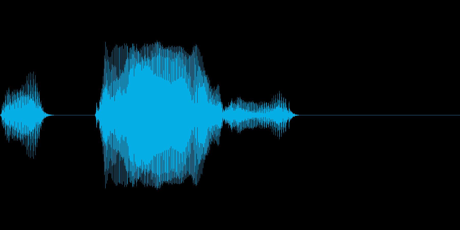 イコールの再生済みの波形