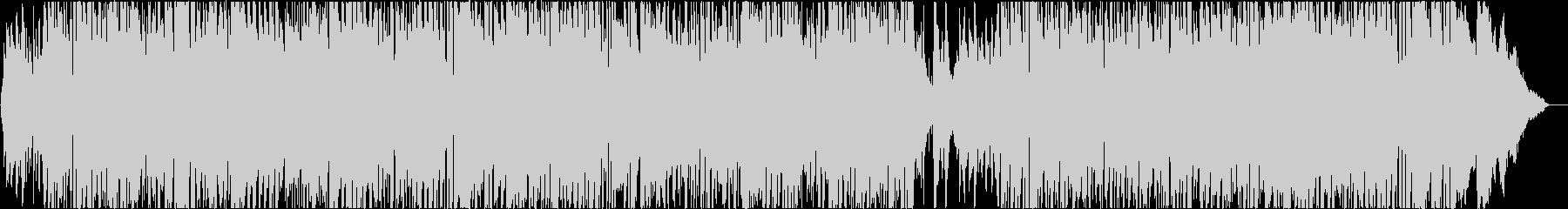 軽快でおしゃれな生演奏フルートのボサノバの未再生の波形