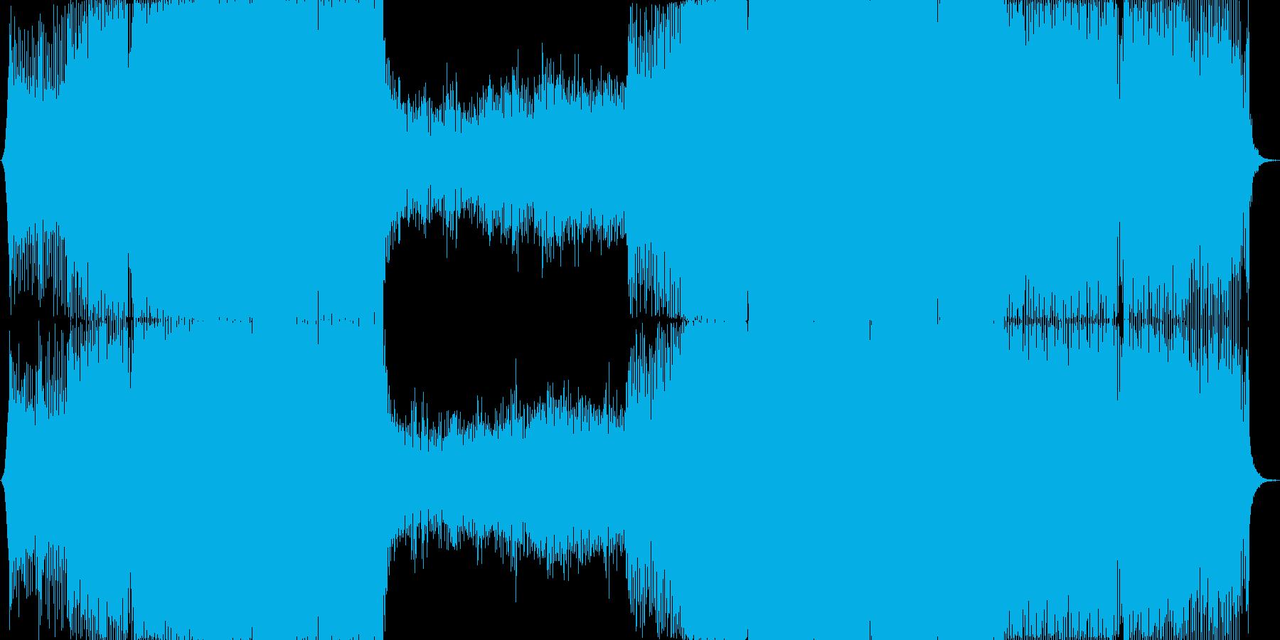 【宇宙系】高揚感のあるトランスの再生済みの波形