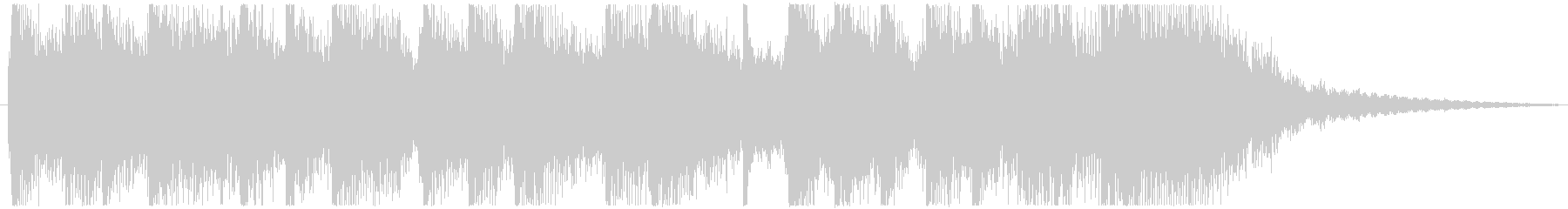 弦楽器のリフをメインにしたジングルの未再生の波形