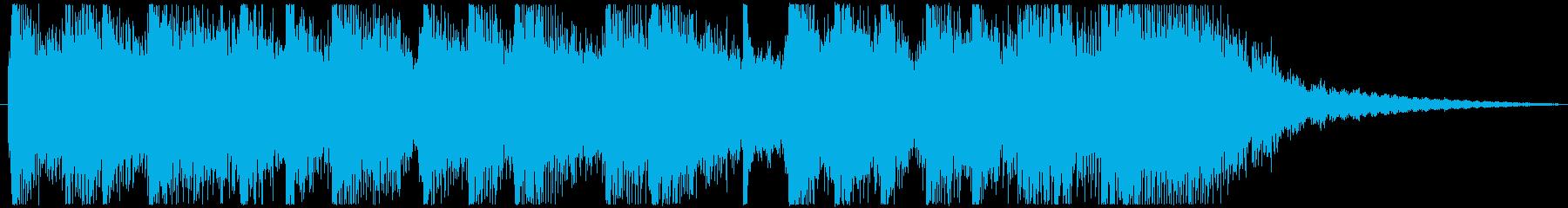 弦楽器のリフをメインにしたジングルの再生済みの波形