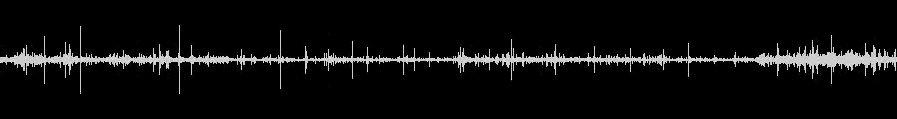【環境音】「ちゃぷちゃぷ」川の水音の未再生の波形
