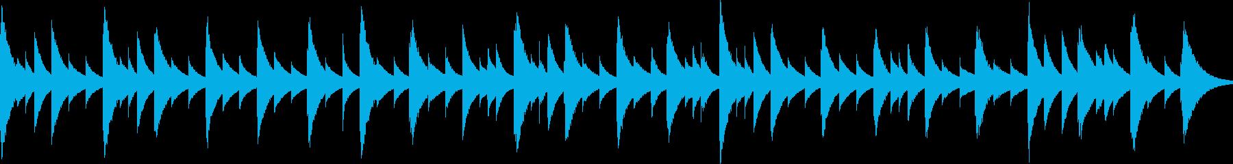「きよしこの夜」のオルゴール独奏です。の再生済みの波形