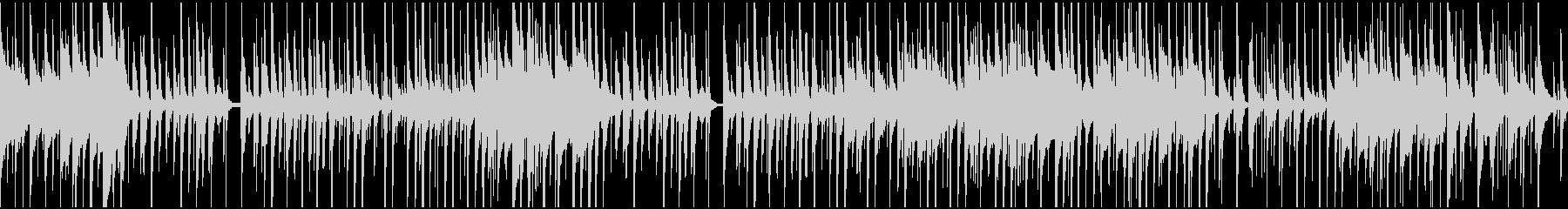 ほのぼの、可愛い感じのBGM(ループ)の未再生の波形