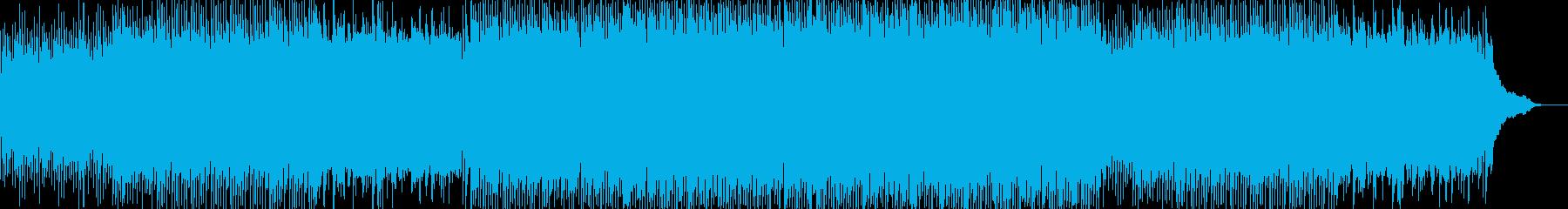 動画 感情的 説明的 静か やる気...の再生済みの波形