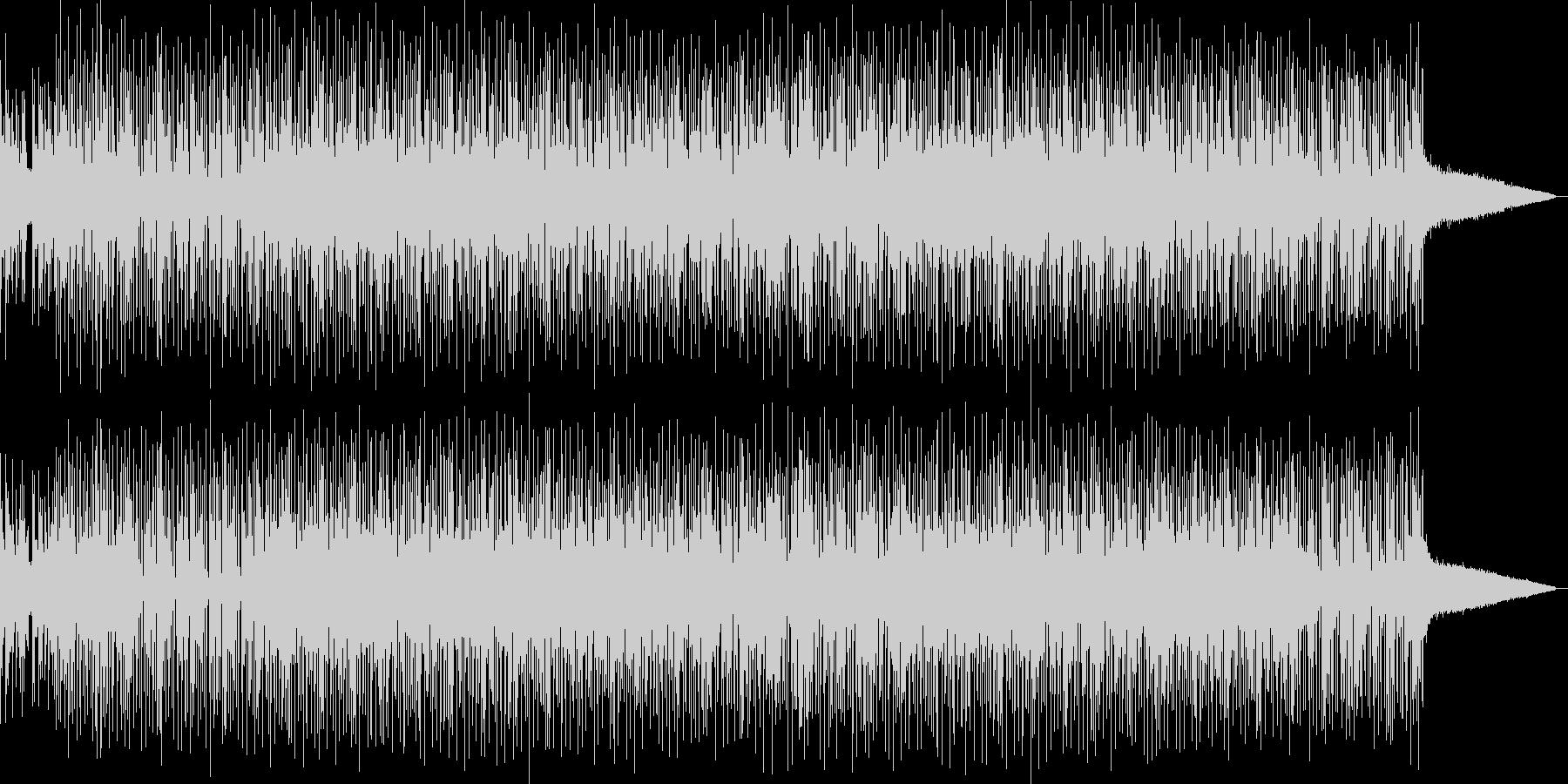 オケ・ヒット音と切ないピアノが印象的な曲の未再生の波形