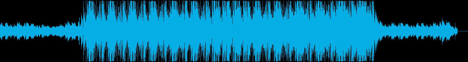 チルアウト ダーク感のあるヒップホップの再生済みの波形