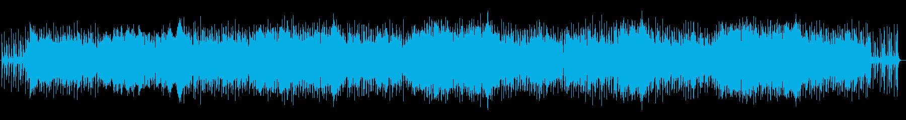ゆったりとした癒しサウンドですの再生済みの波形