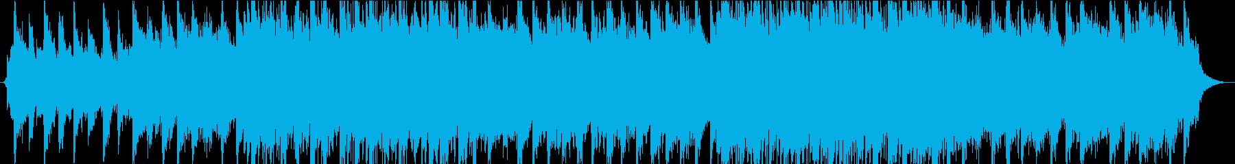 メロディックギターとピアノのバラードの再生済みの波形