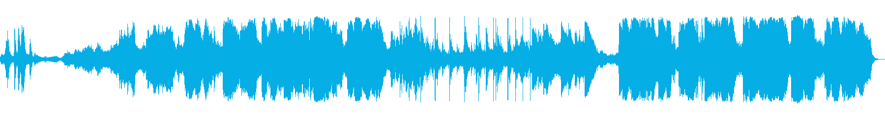 雲南省での体験を元に作成した曲ですの再生済みの波形