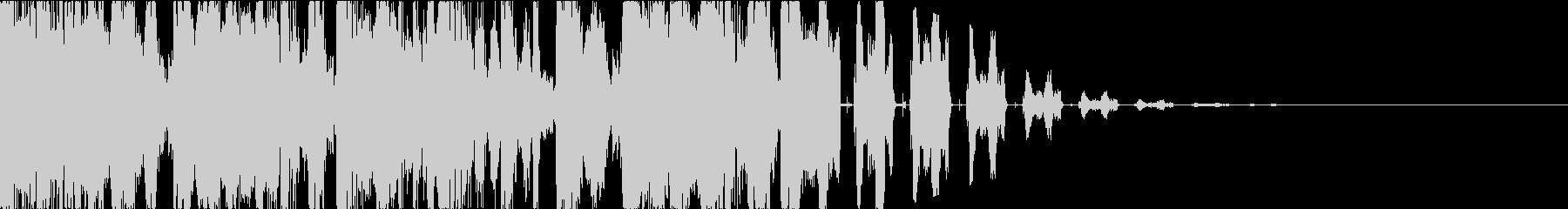 ヒップホップ・DJスクラッチ・ジングルcの未再生の波形