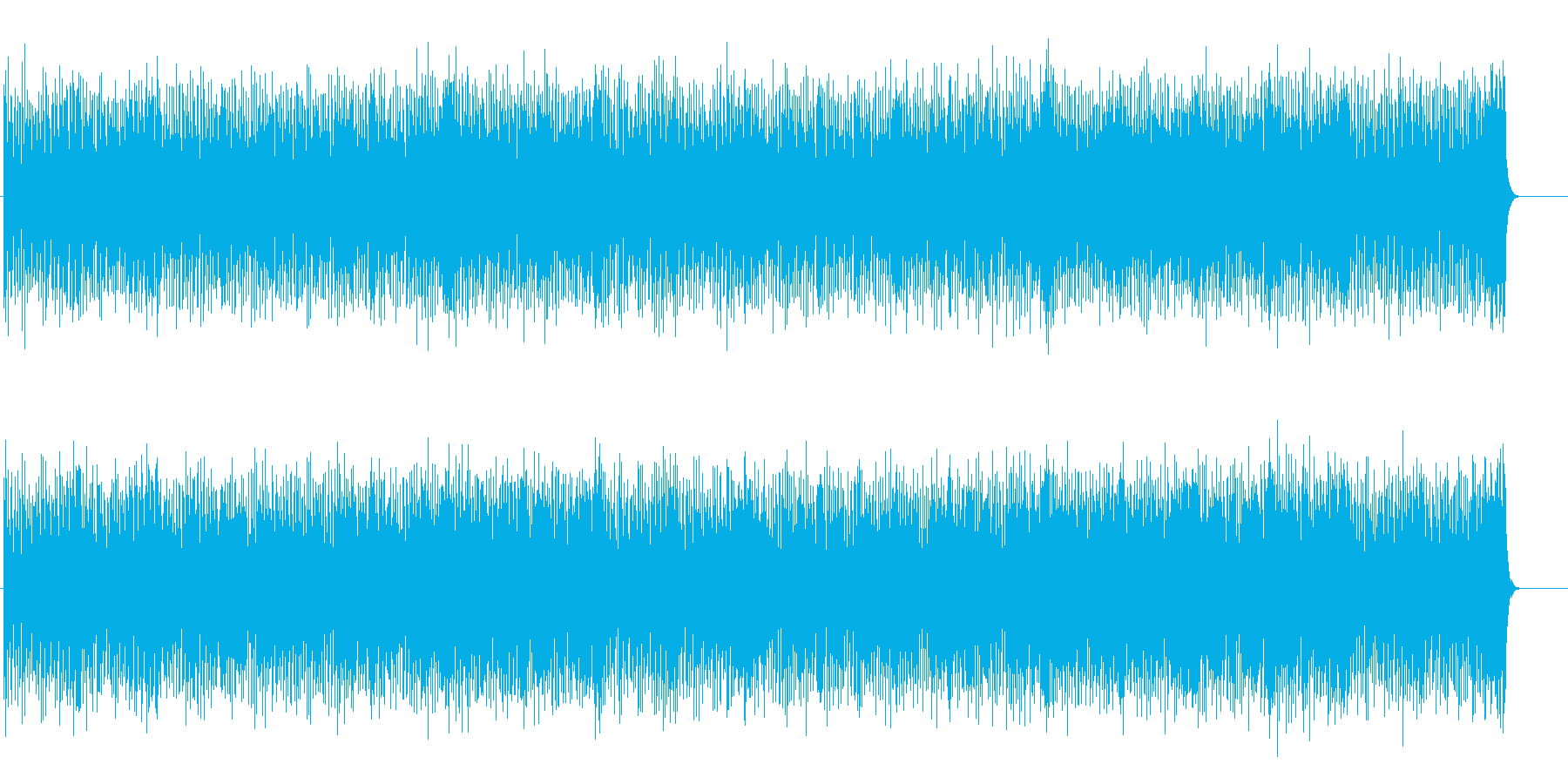 迷いもふっ切れる タイトなポップスの再生済みの波形