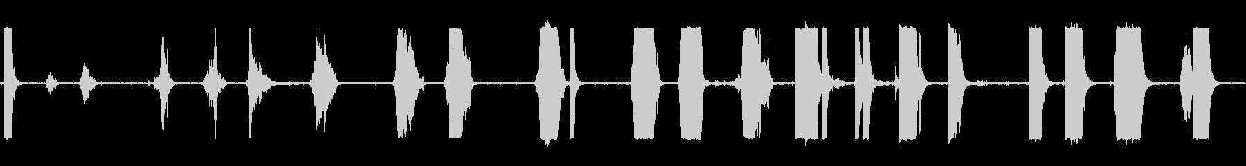 金属ブロックセメント景観クランクの未再生の波形