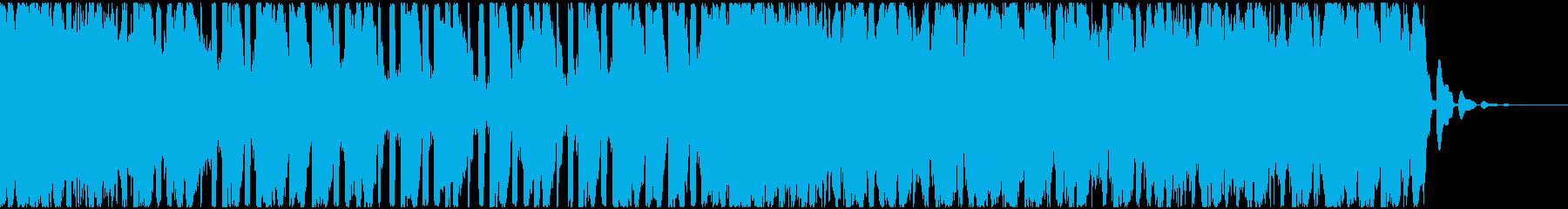 【EDM】トランス、ジングル6の再生済みの波形