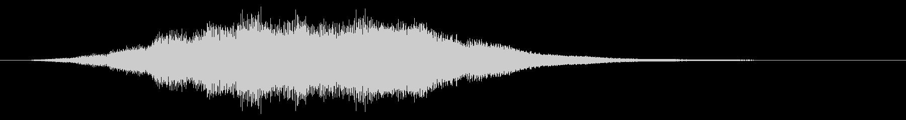 【ダーク】緊張感のある映像に合うBGMの未再生の波形