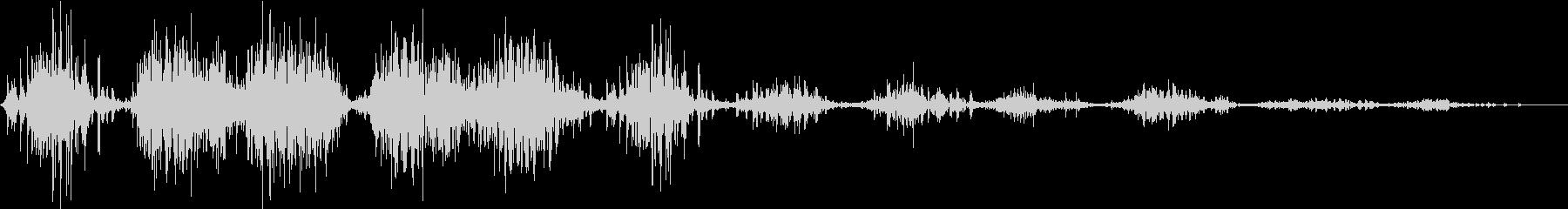 モンスター 笑い声 03の未再生の波形