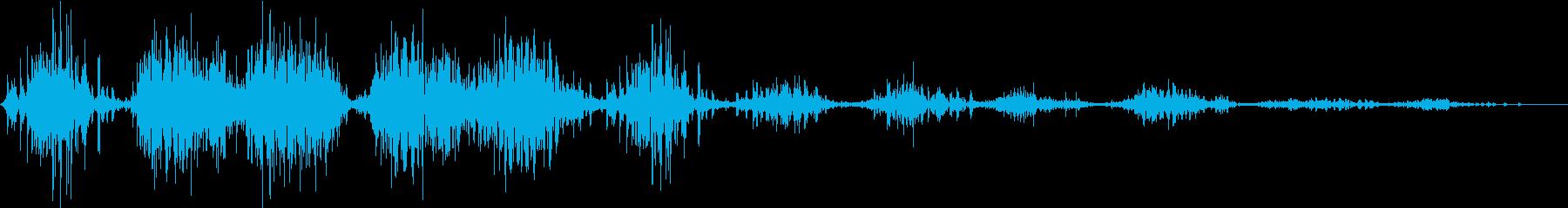 モンスター 笑い声 03の再生済みの波形