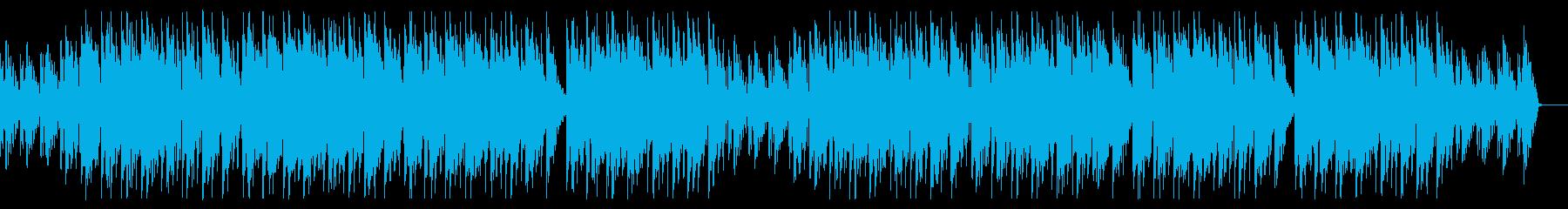 クールでメロディアスなお洒落なエレクトロの再生済みの波形