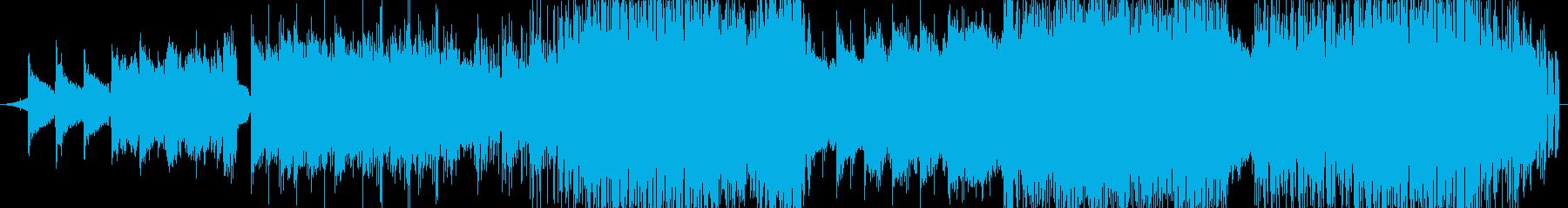 女性の歌声を起用した切なさ漂うエレクトロの再生済みの波形