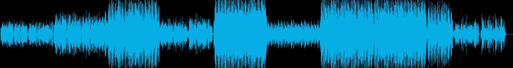 レトロな伝統的ワルツの再生済みの波形