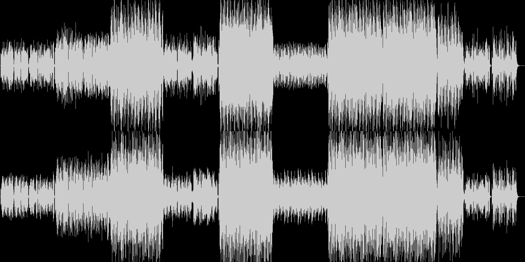レトロな伝統的ワルツの未再生の波形