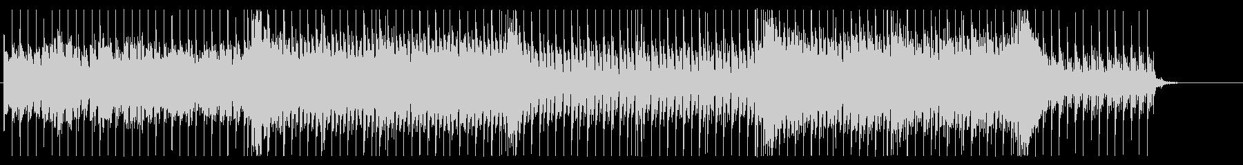 サイケデリックでエピックな攻撃的BGMの未再生の波形