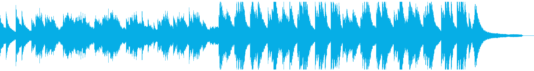 暗い過去を回想するような重いピアノオケ②の再生済みの波形