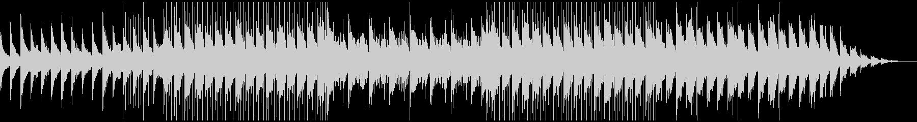 ピアノがキラキラ綺麗なBGM7の未再生の波形