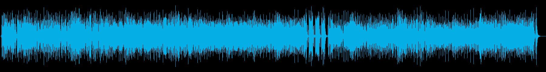 リズミカルでアップテンポなジャズサウンドの再生済みの波形