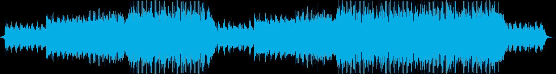 穏やかな洋楽EDMの再生済みの波形