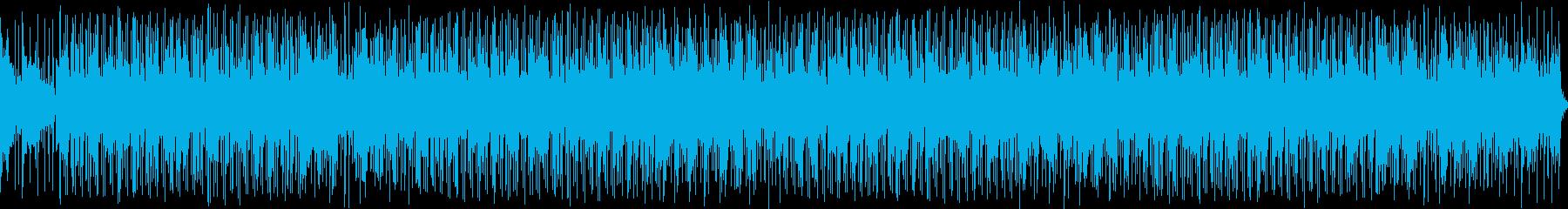飽和した蒸気のリズミカルなギターsr。の再生済みの波形