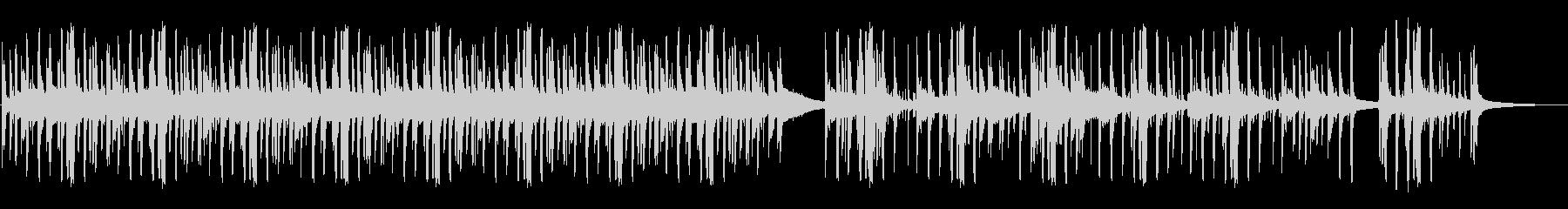 風変わりな響きのドラムグルーヴは催...の未再生の波形