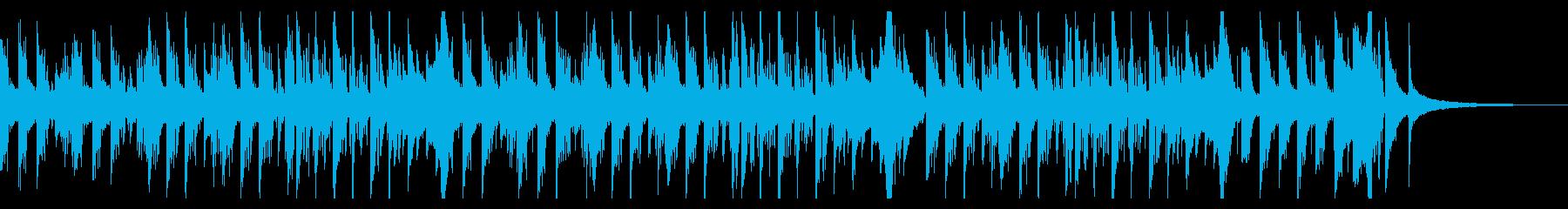映像やCMに 爽やか4つ打ちアコギ曲の再生済みの波形