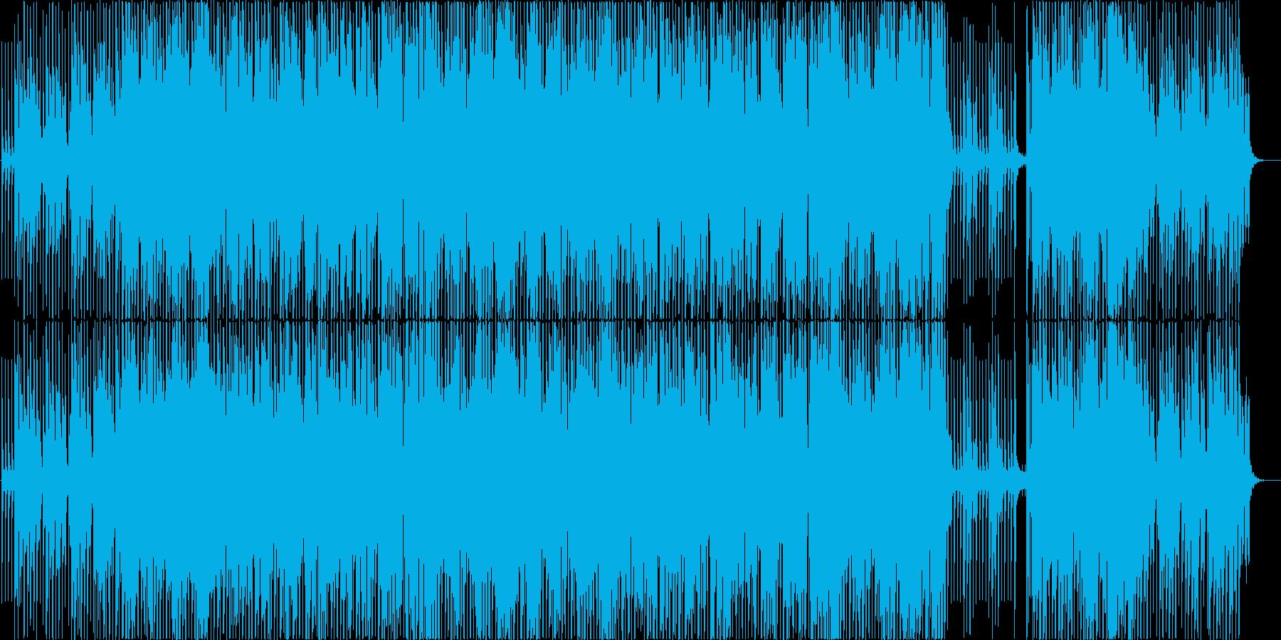 Vaporwaveポップ 夏の恋の終わりの再生済みの波形