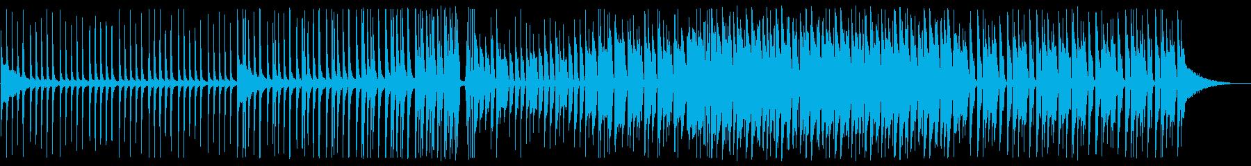 爽やかなEDM_2の再生済みの波形