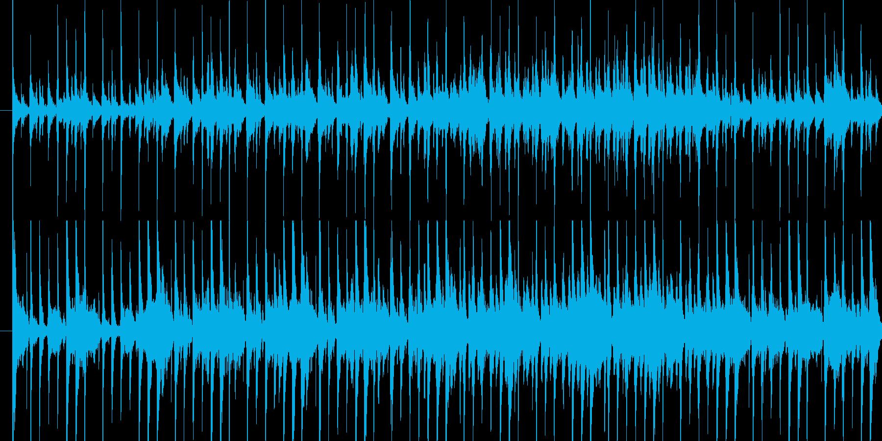 ・ゲームのほのぼのした戦闘曲を想定して…の再生済みの波形