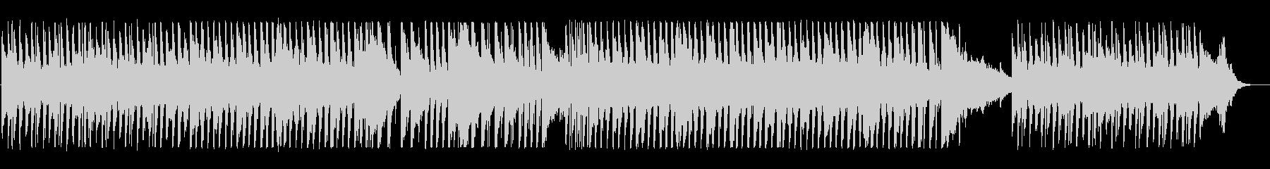さわやかで軽快なピアノポップスの未再生の波形
