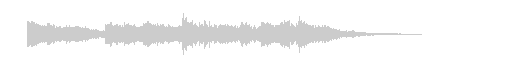 A short song of a pretty sparkly bell's unreproduced waveform