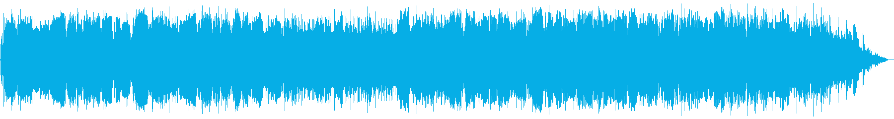 Calm music of a whistle in a quiet country atmosphere's reproduced waveform