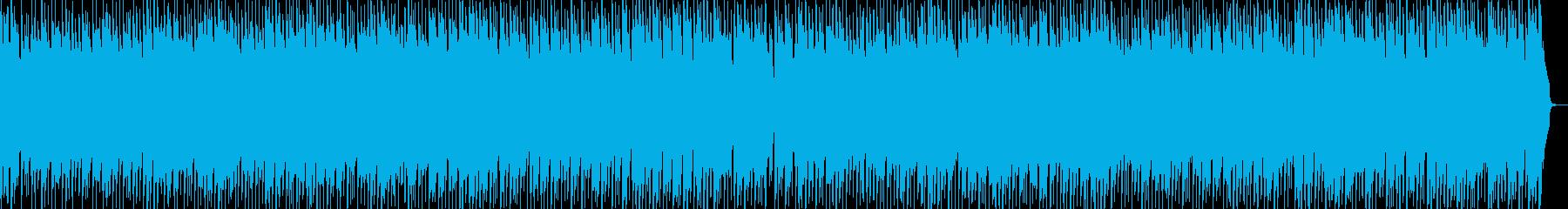 ほのぼのしたかわいいポップワルツの再生済みの波形