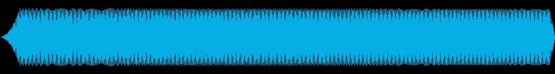 宇宙ラジオウィニングキャット短波探索の再生済みの波形
