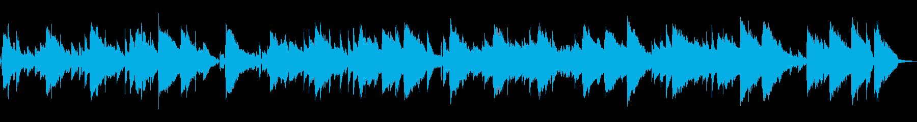 心を癒す、生演奏のボサノバ曲の再生済みの波形