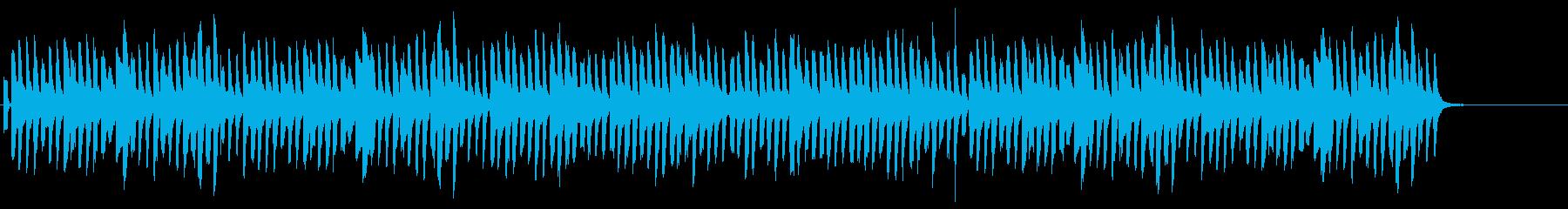 可愛らしい冬の曲です。の再生済みの波形