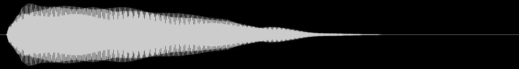 クラブ系 タッチ音2(単)の未再生の波形