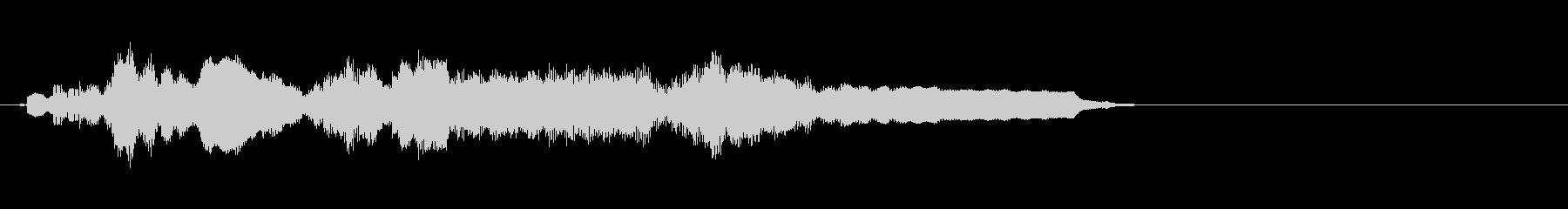 セーブポイント、宿、などのジングルの未再生の波形