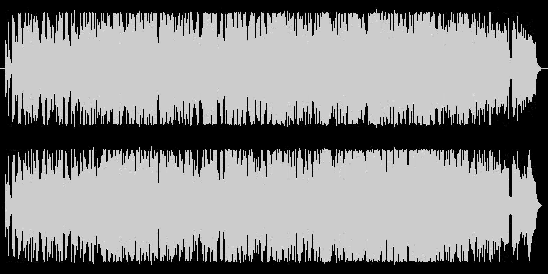 ショートサイズのロックサウンド。の未再生の波形